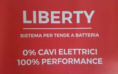 """""""LIBERTY"""" IL SISTEMA PER TENDE A BATTERIA!!!BY IL PENTAGONO DI LINO RUGGIO"""